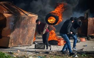 الصورة: الاحتلال يُعدم 4 فلسطينيين بدم بارد