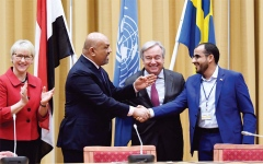 الصورة: الضغط العسكري يجبر الحوثي على قبول الحل السياسي