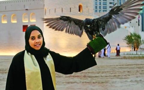 الصورة: رمز الرفعة الإماراتية