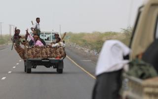 الصورة: الجيش اليمني يحرر مواقع في صعدة وحجة
