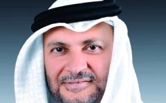 الصورة: قرقاش: ازدواجية قطر تحمل بصمات الأمير السابق