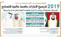 الصورة: 2019 لترسيخ الإمارات عاصمة عالمية للتسامح