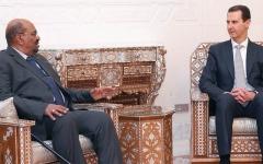 الصورة: البشير أول رئيس عربي يزور دمشق منذ الأزمة