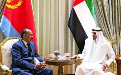الصورة: محمد بن زايد: ندعم التعاون العربي لتعزيز التنمية