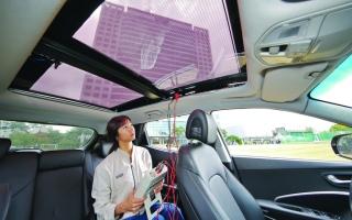 الصورة: «هيونداي» تكشف عن تقنية للشحن بالطاقة الشمسية