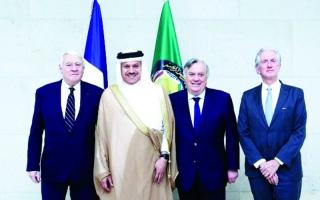 الصورة: الزياني يؤكد متانة العلاقات  الخليجية الفرنسية