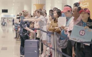 الصورة: مطار دبي يستقبل المسافر رقم مليار