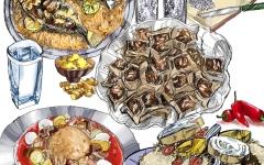 الصورة: طفرة في عالم المأكولات السعودية