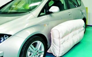 الصورة: وسائد تقلل تأثير اصطدام السيارات