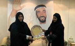 الصورة: «النهضة النسائية» تختتم عام زايد بإهداء إلى أم الإمارات