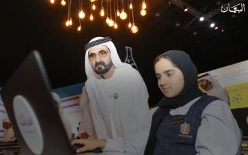 الصورة: محمد بن راشد.. القائد الإنسان