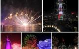 الصورة: الصورة: بالصور والفيديو.. تجربة صحافية في تغطية احتفالات رأس السنة في دبي