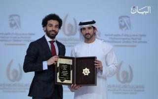 الصورة: هؤلاء هم أبرز المتوّجون بجائزة محمد بن راشد للإبداع الرياضي