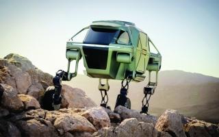 الصورة: مركبة خارقة قادرة على المشي والتسلق