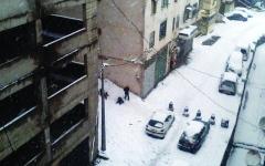 الصورة: الثلوج تعزل مدناً في الجزائر وتونس
