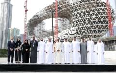 الصورة: محمد بن راشد يتابع سير العمل ومراحل  الإنجاز بمشاريع مؤسسة دبي للمستقبل