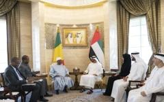 الصورة: محمد بن زايد: الإمارات بقيادة خليفة حريصة على دعم الدول التي تسعى للتنمية وتطوير قطاعاتها