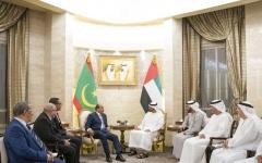 الصورة: محمـد بن زايد: نتطلـع لدفع التعـاون مـع موريتانيا إلى آفاق أرحب لصالح البلدين