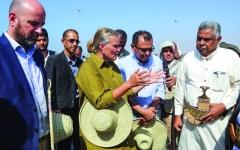 الصورة: الحوثي يعلن الحرب على اتفاق السويد