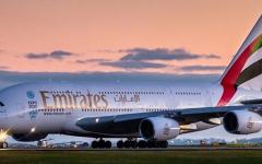 الصورة: بيان مهم من طيران الإمارات بشأن الطائرة المتجهة من مصر إلى دبي