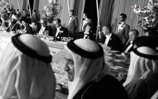 """الصورة: ماذا قال محمد بن راشد عن """"ليلة ملك الملوك""""!؟"""