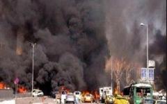 الصورة: مقتل وإصابة 94 بانفجار سيارة مفخخة في كابول