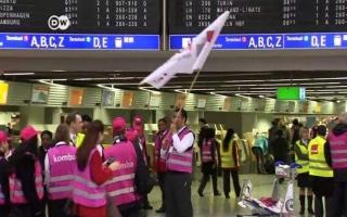 إلغاء مئات الرحلات الجوية في مطارات ألمانية بسبب إضراب موظفي الأمن