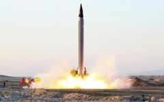 الصورة: إيران تفشل في محاولة إطلاق قمر صناعي