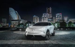 الصورة: سيارة كهربائية رياضية من «إنفينيتي»