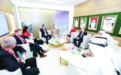 الصورة: كهرباء دبي تبحث التعاون في الطاقة المتجددة والنظيفة مع سويسرا