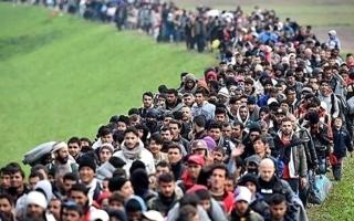 الصورة: موجة جديدة من مهاجري هندوراس تنطلق باتجاه أمريكا