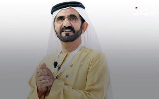 الصورة: محمد بن راشد.. القائد والمفكر والشاعر والراوي