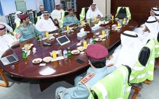 """قائد عام شرطة رأس الخيمة: """" راكز"""" مركز رئيسي لدعم الأعمال والاستثمار في الإمارة"""
