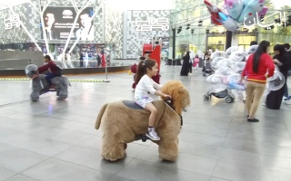 """الصورة: """"دبي للتسوق"""" تجارب  تفاعلية وأجواء كرنفالية"""