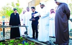 الصورة: افتتاح معرض الزراعة المنزلية الذكية في «مصدر»