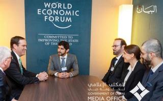 الصورة: الإمارات في دافوس حضور فاعل لصناعة مستقبل أفضل للإنسان