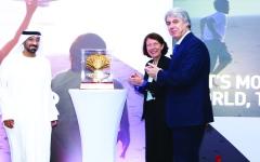 الصورة: أحمد بن سعيد يشهد مؤتمر «سيتا» الإقليمي في دبي