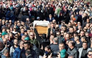 الصورة: فلسطينيو الـ 48 يشيّعون طالبة قتلت في أستراليا