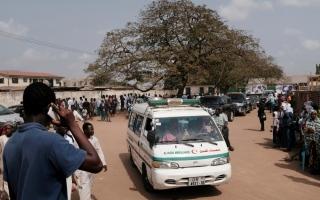 الصورة: وفاة 13 شخصاً على الأقل جراء انفجار بمنجم ذهب في غانا