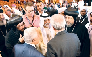 الصورة: المؤتمر العالمي للأخوة الإنسانية يشجع على حوار الأديان