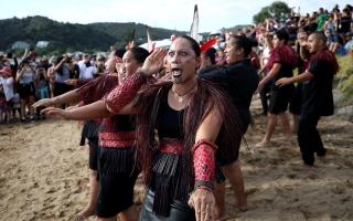 الصورة: الصورة: بالصور.. نيوزيلندا تحتفل بيوم «وايتانجى»
