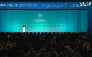 الصورة: القمة العالمية للحكومات.. العالم في دبي لرفاهية الإنسان