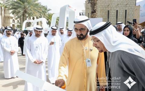 الصورة: الصورة: محمد بن راشد يطلق مركز دبي الدولي لأفضل الممارسات