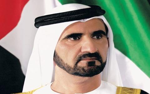 الصورة: الصورة: محمد بن راشد يستقبل القادة والمسؤولين المشاركين في قمة الحكومات