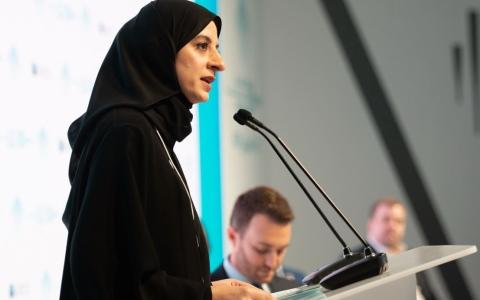 الصورة: الصورة: هدى الهاشمي: حكومة الإمارات تحرص على توفير خدمات سلسة واستباقية لمواطنيها