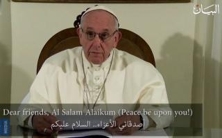 الصورة: كلمة مؤثرة لقداسة البابا فرنسيس في القمة العالمية للحكومات