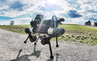 الصورة: روبوت المهمات الصعبة يتحدى الإنسان