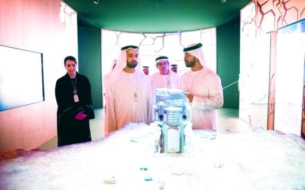 الصورة: الصورة: محمد بن سعود: الإمارات مركز عالمي لصناعة المستقبل