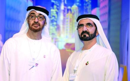 الصورة: الصورة: محمد بن راشد ومحمد بن زايد: الإمارات تصنع المستقبل وتمكّن حكومات العالم