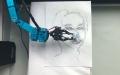 """الصورة: الصورة: بالفيديو.. الروبوت """"آي دا"""" تقيم معرضاً لرسومها في جامعة أكسفورد"""